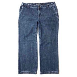 Liz Claiborne Dark Wash Bootcut Jeans
